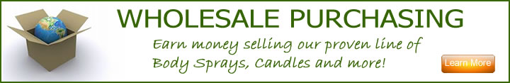 Wholesale Purchasing from Candles of the Earth Fragrance and Oil Supplies